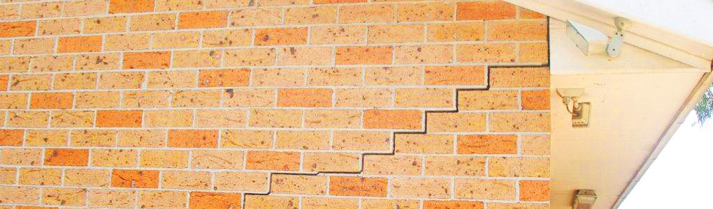 how to tell if cracks in brick walls are serious